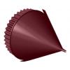 Заглушка конька круглого конусная