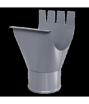 Воронка выпускная D150/100 Пластизол двухсторонний RAL7024
